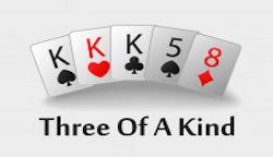trys vienodos